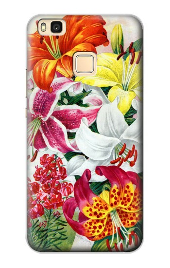 Printed Retro Art Flowers Huawei P9 Lite / G9 Lite Case