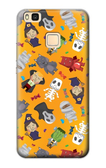 Printed Cute Halloween Cartoon Pattern Huawei P9 Lite / G9 Lite Case