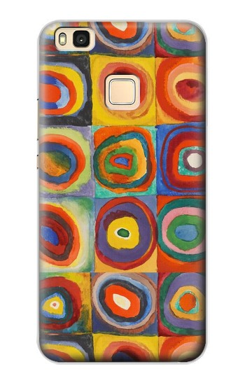 Printed Squares Concentric Circles Huawei P9 Lite / G9 Lite Case
