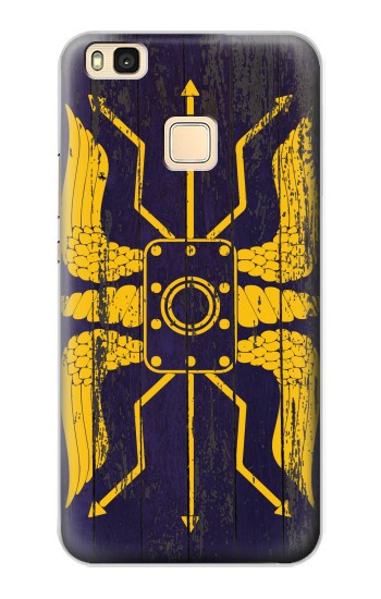 Printed Roman Shield Blue Huawei P9 Lite / G9 Lite Case