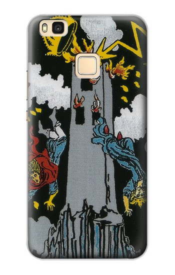 Printed Tarot Card The Tower Huawei P9 Lite / G9 Lite Case