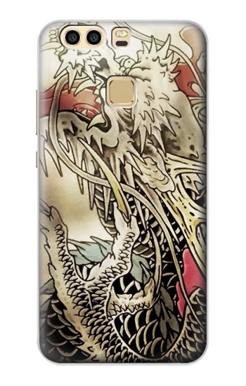 Printed Yakuza Tattoo Huawei P9 Plus Case