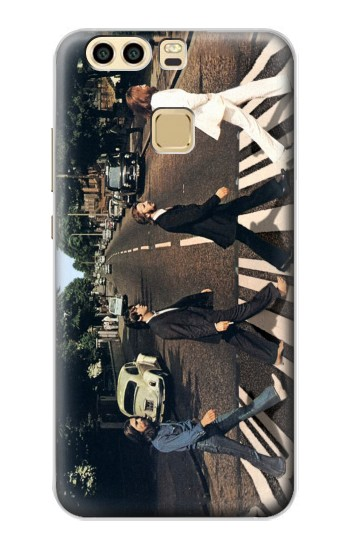 Printed The Beatles Abbey Road Huawei P9 Plus Case