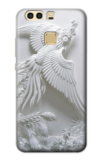 Printed Phoenix Carving Huawei P9 Plus Case