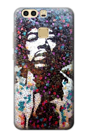 Printed Pick Guitar Art Jimi Hendrix Huawei P9 Plus Case