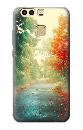 Printed Road Through The Woods Huawei P9 Plus Case