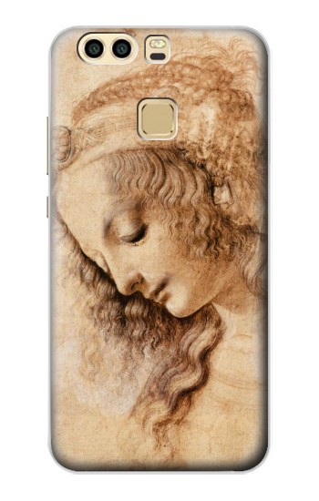 Printed Leonardo da Vinci Woman\'s Head Huawei P9 Plus Case