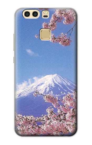 Printed Mount Fuji Sakura Cherry Blossom Huawei P9 Plus Case