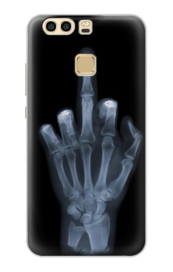 Printed X-ray Hand Middle Finger Huawei P9 Plus Case