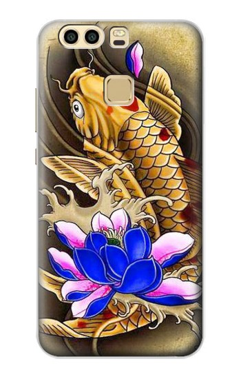 Printed Carp Koi Fish Japanese Tattoo Huawei P9 Plus Case