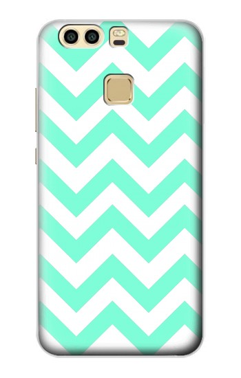 Printed Mint Chevron Zigzag Huawei P9 Plus Case