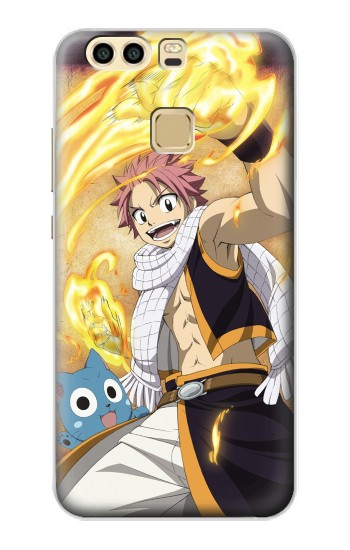 Printed Fairy Tail Natsu Happy Huawei P9 Plus Case