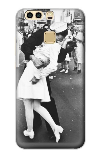 Printed The Famous Kiss Huawei P9 Plus Case