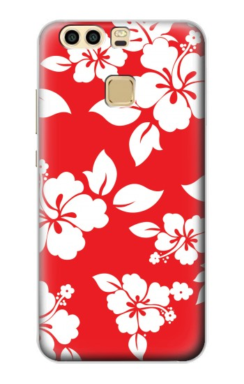Printed Hawaiian Hibiscus Pattern Huawei P9 Plus Case