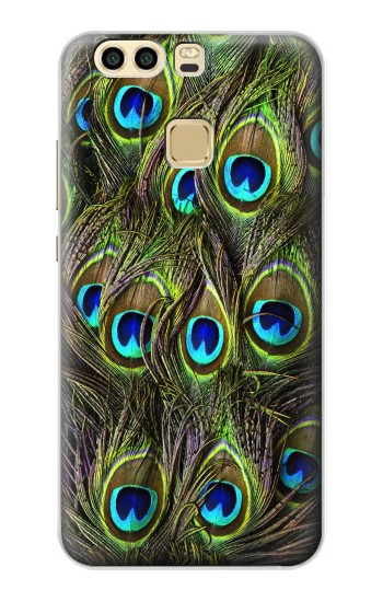 Printed Peacock Feather Huawei P9 Plus Case