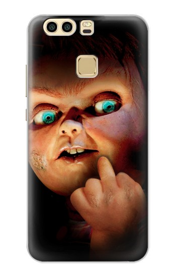 Printed Chucky Middle Finger Huawei P9 Plus Case