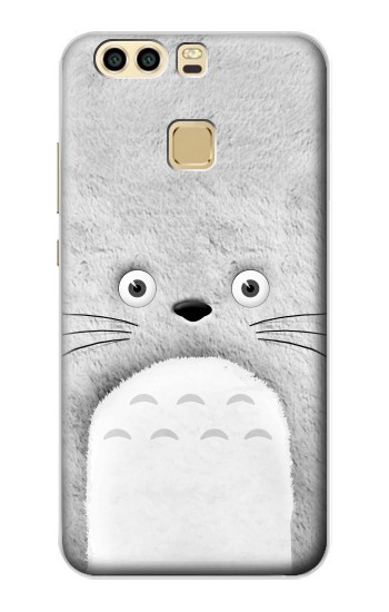 Printed My Neighbor Totoro Grey Minimalist Huawei P9 Plus Case