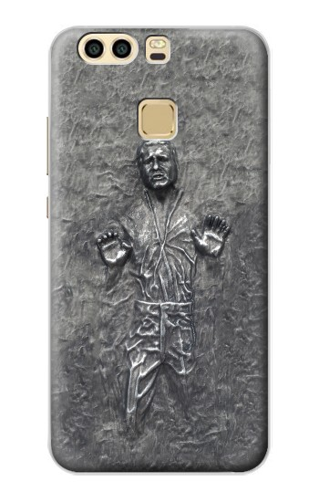 Printed Han Solo in Carbonite Huawei P9 Plus Case