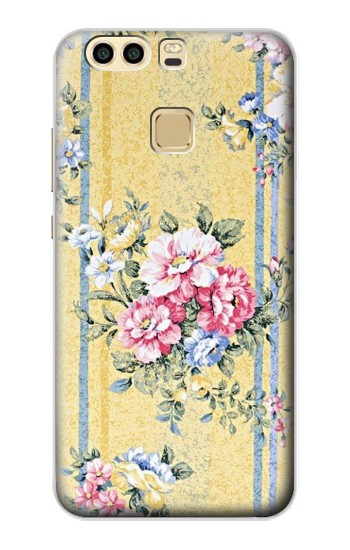 Printed Vintage Flowers Huawei P9 Plus Case