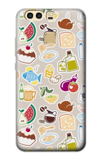 Printed Food and Drink Seamless Huawei P9 Plus Case