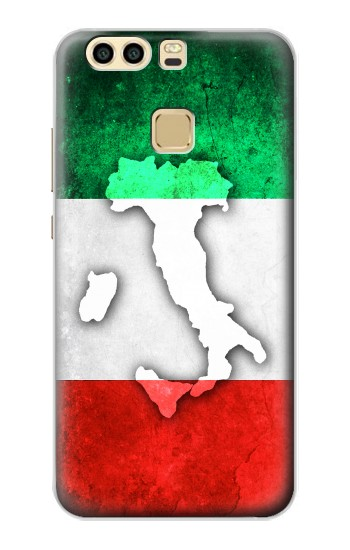 Printed Italy Flag Huawei P9 Plus Case