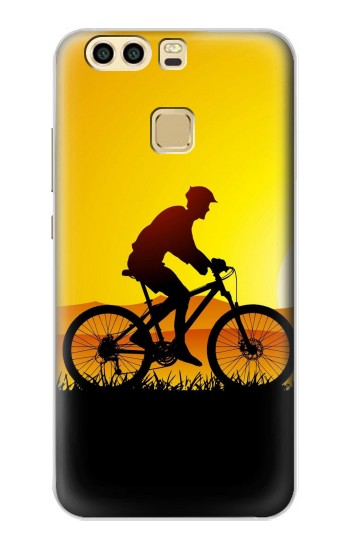 Printed Bicycle Bike Sunset Huawei P9 Plus Case