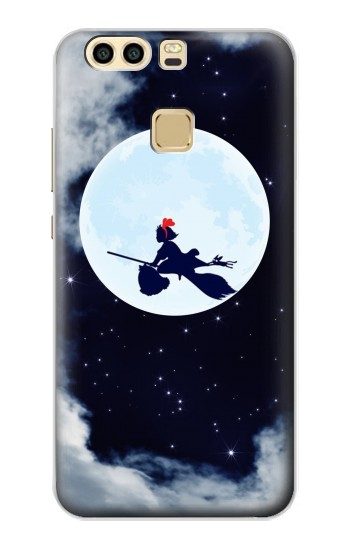 Printed Kiki Delivery Service Little Witch Kiki Moon Huawei P9 Plus Case