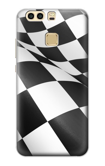 Printed Checkered Winner Flag Huawei P9 Plus Case