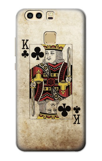 Printed Poker Card King Huawei P9 Plus Case
