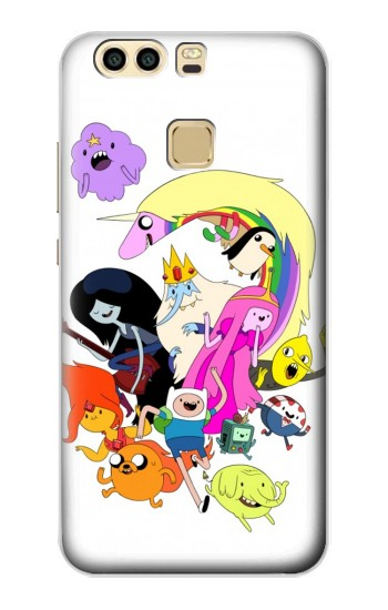 Printed Adventure Time Charactors Huawei P9 Plus Case