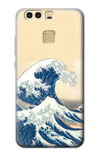 Printed Under the Wave off Kanagawa Huawei P9 Plus Case