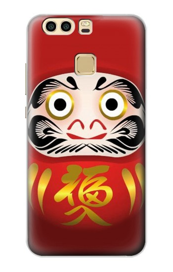 Printed Japan Daruma Doll Huawei P9 Plus Case