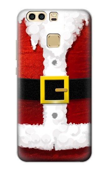 Printed Christmas Santa Red Suit Huawei P9 Plus Case