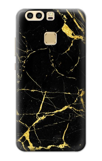 Printed Gold Marble Graphic Printed Huawei P9 Plus Case
