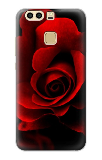 Printed Red Rose Huawei P9 Plus Case