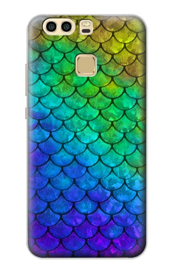 Printed Mermaid Fish Scale Huawei P9 Plus Case