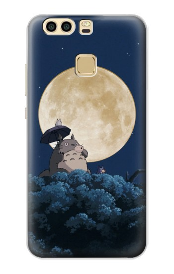 Printed Totoro Ocarina Moon Night Huawei P9 Plus Case