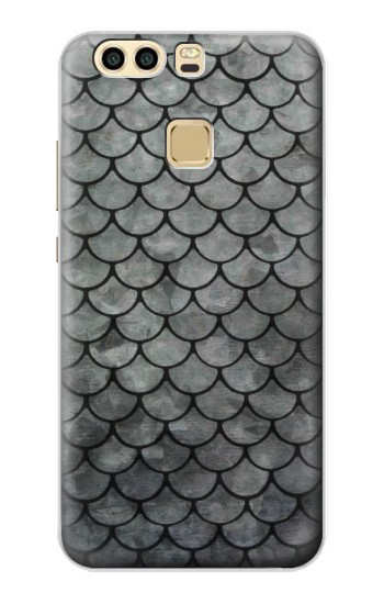 Printed Silver Fish Scale Huawei P9 Plus Case
