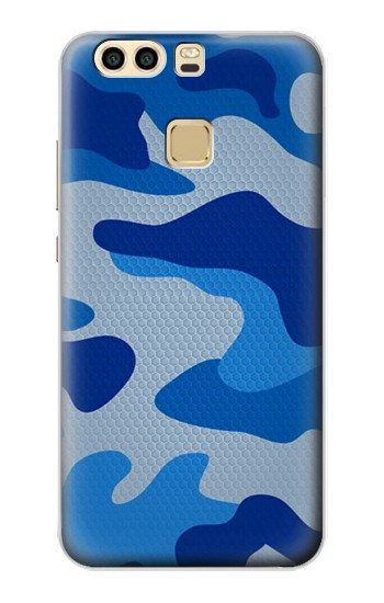 Printed Army Blue Camouflage Huawei P9 Plus Case