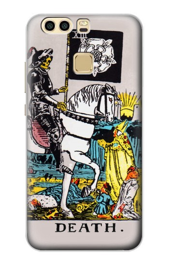 Printed Tarot Card Death Huawei P9 Plus Case