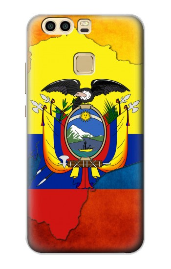 Printed Ecuador Flag Huawei P9 Plus Case