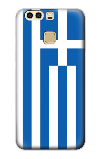 Printed Flag of Greece Huawei P9 Plus Case
