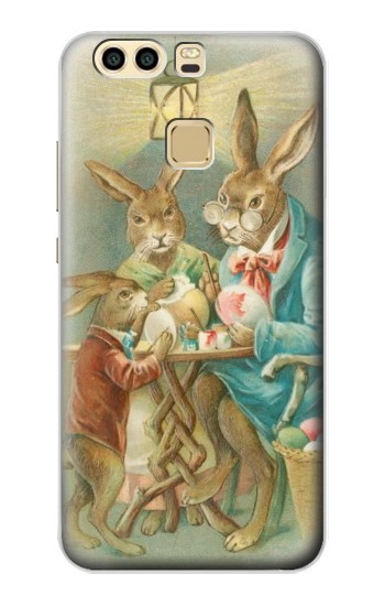 Printed Easter Rabbit Family Huawei P9 Plus Case