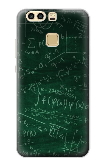 Printed Math Formula Greenboard Huawei P9 Plus Case