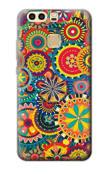 Printed Colorful Pattern Huawei P9 Plus Case