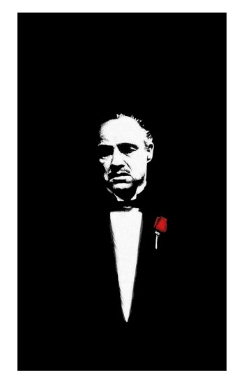Printed Godfather iPad Air 2 Case