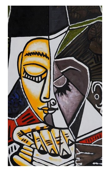Printed Pablo Picasso Painting iPad Air 3 Case