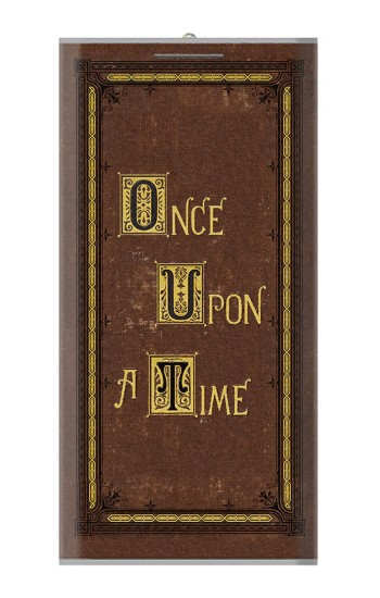 Printed Once Upon a Time Book Cover Power Bank 8000mAh Case