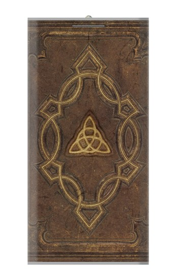 Printed Spell Book Cover Power Bank 8000mAh Case