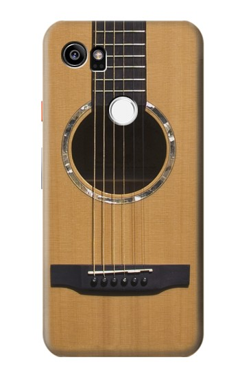 Printed Acoustic Guitar HTC One X9 Case